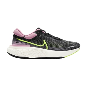 Zapatillas Running Neutras Mujer Nike ZoomX Invincible Run Flyknit  Black/Cyber/Elemental Pink CT2229002