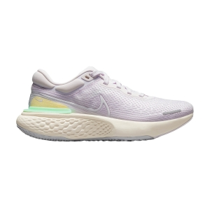 Zapatillas Running Neutras Mujer Nike ZoomX Invincible Run Flyknit  Light Violet/White/Infinite Lilac CT2229500