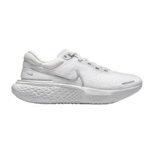 Nike ZoomX Invincible Run Flyknit - White/Metallic Silver/Pure Platinum