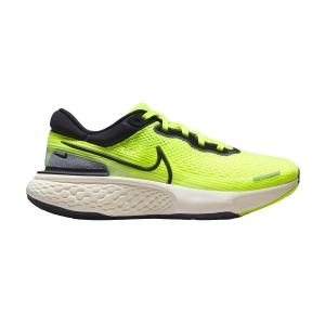 Scarpe Running Neutre Uomo Nike Zoomx Invincible Run Flyknit  Volt/Black/Barely Volt CT2228700