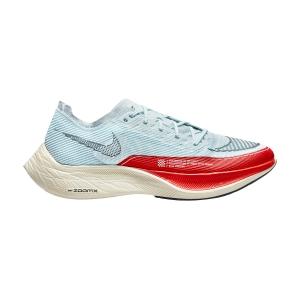 Nike ZoomX Vaporfly Next% 2 - Glacier Blue/Black/Chile Red/Pale Ivory