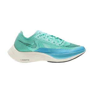 Zapatillas Running Performance Mujer Nike ZoomX Vaporfly Next% 2  Aurora Green/Black/Chlorine Blue CU4123300