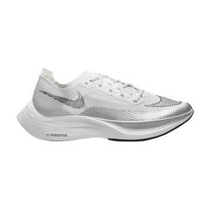Zapatillas Running Performance Mujer Nike ZoomX Vaporfly Next% 2  White/Black/Metallic Silver CU4123100