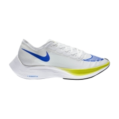 Nike ZoomX Vaporfly Next% - White/Racer Blue/Cyber/Black