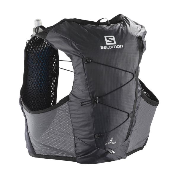 Salomon Active Skin 4 Set Backpack - Ebony/Black