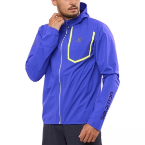 Men's Running Jacket Salomon Bonatti Pro WP Jacket  Clematis Blu LC1493500