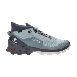 Salomon Cross Over Chukka GTX - Slate/Ebony/Lunar Rock