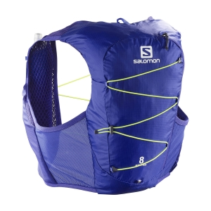 Hydro Backpack Salomon Active Skin 8 Set Backpack  Clematis Blue LC1514500
