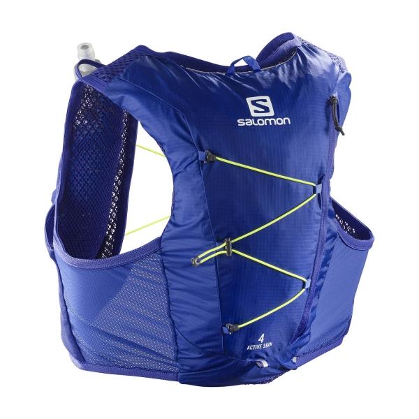 Salomon Active Skin 4 Set Backpack - Clematis Blue