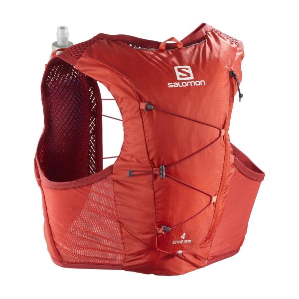 Salomon Active Skin 4 Set Backpack - Valiant Poppy
