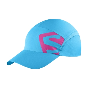 Hats & Visors Salomon XA Cap  Hawaiian Ocean/Fuchsia Red LC1522200