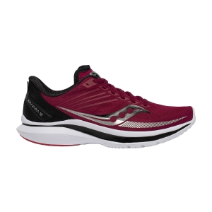 Women's Performance Running Shoes Saucony Kinvara 12  Cherry/Silver 1061955