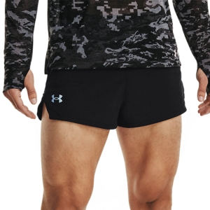 Pantalones cortos Running Hombre Under Armour Draft 2in Shorts  Black 13614880001