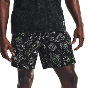 Pantalones cortos Running Hombre Under Armour Face Off 7in Shorts  Black 13614960001