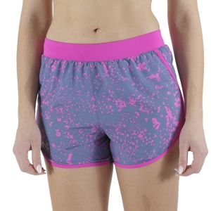 Pantaloncini Running Donna Under Armour Fly By 2.0 Print 3.5in Pantaloncini  Mineral Blue/Meteor Pink/Reflective 13501980470