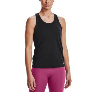 Women's Running Tank Under Armour Fly By Tank  Black/Reflective 13613940001