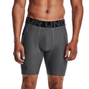 Tights Fitness e Training Uomo Under Armour HeatGear Short Tights  Carbon Heather/Black 13615960090