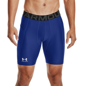 Men's Fitness & Training Tights Under Armour HeatGear Short Tights  Royal/White 13615960400