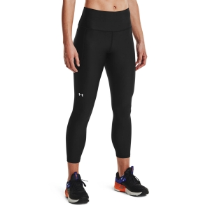 Women's Fitness & Training Pants and Tights Under Armour HeatGear HiRise 7/8 Tights  Black/White 13653350001