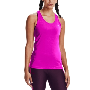 Canotta Fitness e Training Donna Under Armour HeatGear Racer Canotta  Meteor Pink/Metallic Siver 13289620660