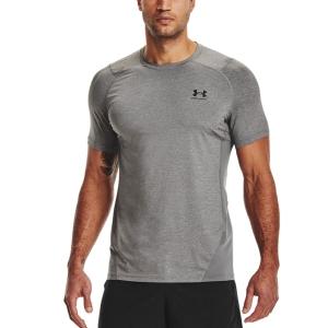 Under Armour HeatGear Knit T-Shirt - Carbon Heather