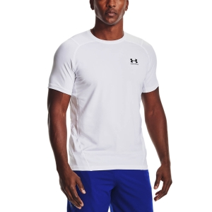 Under Armour HeatGear Knit T-Shirt - White