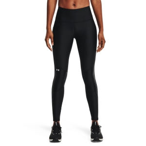 Women's Fitness & Training Pants and Tights Under Armour HeatGear Shine Tights  Black/White 13653520001