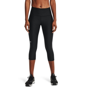 Women's Fitness & Training Pants and Tights Under Armour HiRise Capri Tights  Black/White 13653340001