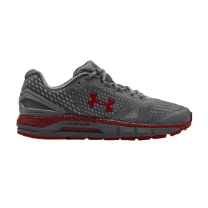 Scarpe Running Stabili Uomo Under Armour Hovr Guardian 2  Pitch Gray/Red 30225880102
