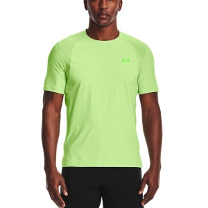 Camisetas Running Hombre Under Armour IsoChill Run 200 Camiseta  Summer Lime 13619280162