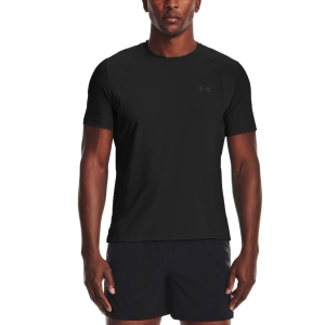 Camisetas Running Hombre Under Armour IsoChill Run 200 Camiseta  Black/Pitch Gray/Reflective 13619280001