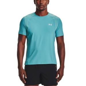 Men's Running T-Shirt Under Armour IsoChill Run 200 TShirt  Cosmos/Breeze/Reflective 13619280476