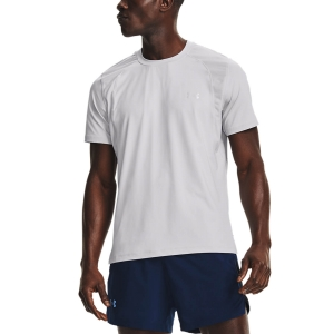Camisetas Running Hombre Under Armour IsoChill Run 200 Camiseta  Halo Gray 13619280014