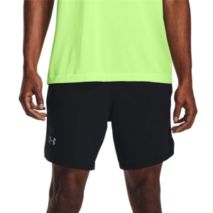 Pantalones cortos Running Hombre Under Armour Launch 2 in 1 7in Shorts  Black/Reflective 13614970001