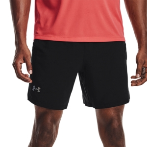 Pantalones cortos Running Hombre Under Armour Launch 7in Shorts  Black/Reflective 13614930001