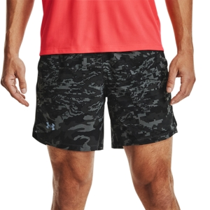Pantalones cortos Running Hombre Under Armour Launch Print 7in Shorts  Black 13614950001