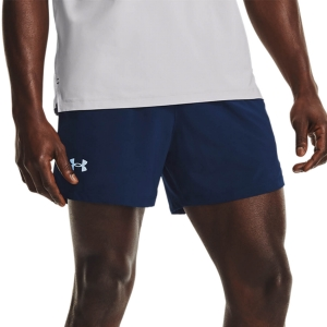 Pantalones cortos Running Hombre Under Armour Launch Woven 5in Shorts  Academy/Black/Reflective 13614920408