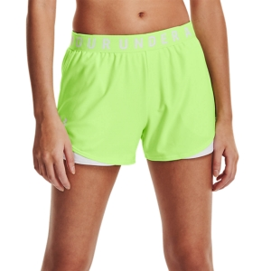 Pantaloncini Running Donna Under Armour Play Up 3.0 3in Pantaloncini  Summer Lime/White 13445520162