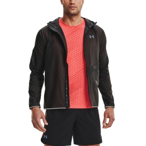 Chaquetas Running Hombre Under Armour Qualifier Storm Packable Chaqueta  Jet Gray 13265970010