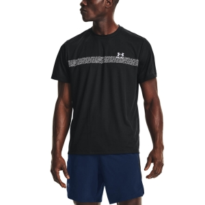 Camisetas Running Hombre Under Armour Speed Stride Graphic Camiseta  Black 13614800001
