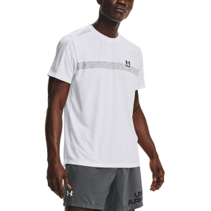 Camisetas Running Hombre Under Armour Speed Stride Graphic Camiseta  White 13614800100