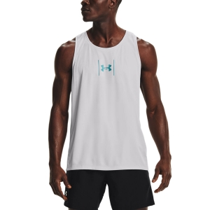 Camisetas sin mangas Running Hombre Under Armour Speed Stride Top  Halo Gray 13561750014