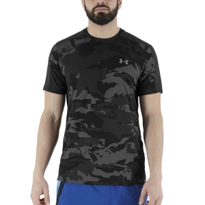 Camisetas Running Hombre Under Armour Speed Stride Print Camiseta  Black 13649320001