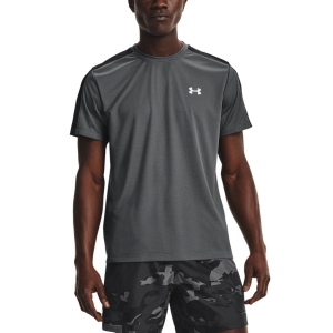 Camisetas Running Hombre Under Armour Speed Stride Camiseta  Pitch Gray/Black/Reflective 13614790012