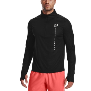 Camisetas Running Hombre Under Armour Speed Stride Shock Camisa  Black 13561740003