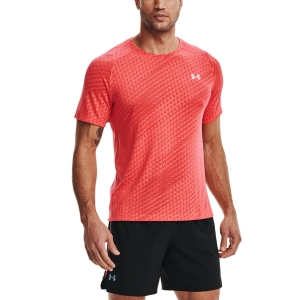 Camisetas Running Hombre Under Armour Streaker Runclipse Camiseta  Venom Red/Reflective 13614730690