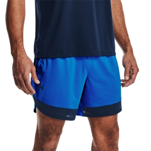 Pantaloncino Fitness e Training Uomo Under Armour Stretch 7in Pantaloncini  Blue Circuit/Academy 13614380436