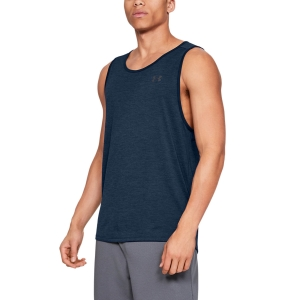 Men's Fitness & Training Tank Under Armour Tech 2.0 Tank  Academy/Pitch Gray 13287040408