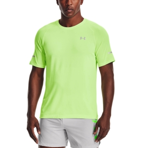 Men's Running T-Shirt Under Armour Vanish Seamless TShirt  Summer Lime 13613560162