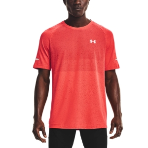 Camisetas Running Hombre Under Armour Vanish Seamless Camiseta  Venom Red 13613560690